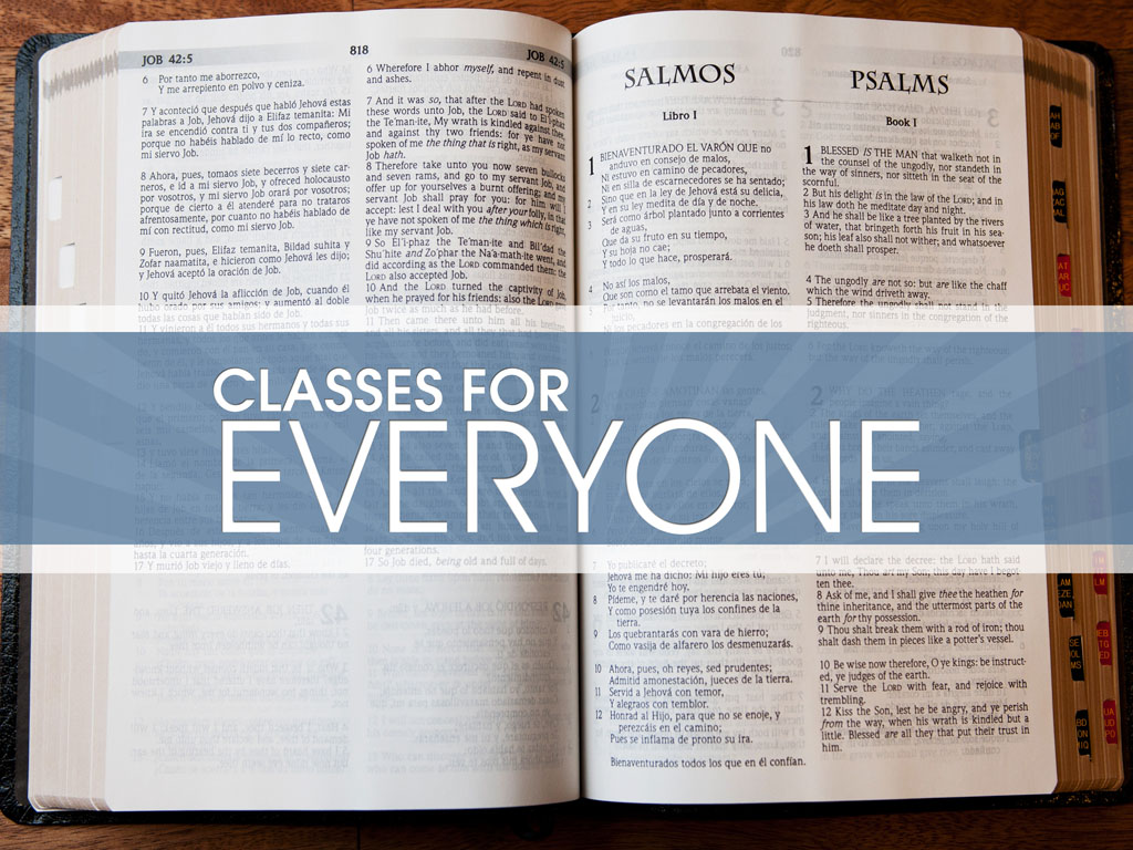 classes for everyone